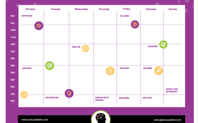 Small changes make a big difference: The visual schedule